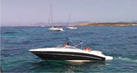 speed boat hire ibiza