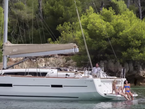 Ibiza Boat Hire - Sailboat Dufour 425